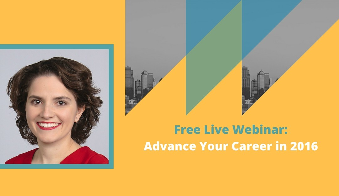 Last Webinar for This Year: The 5 Myths About How to Advance Your Career (and what you should do instead!)