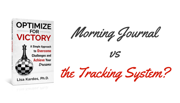 Morning Journal vs the Tracking System?