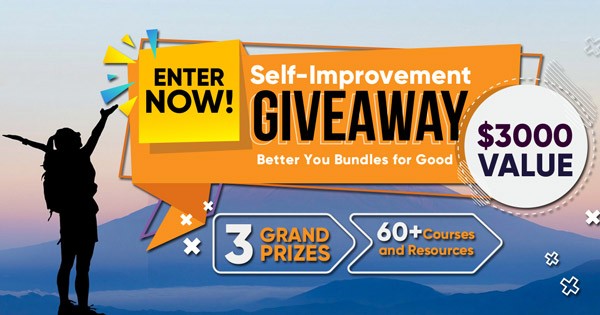 announcing Giveaway for personal development resources