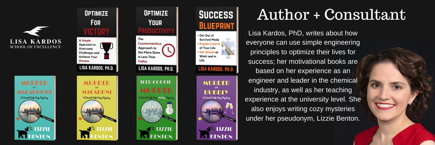 Optimize Books with Dr. Lisa Kardos
